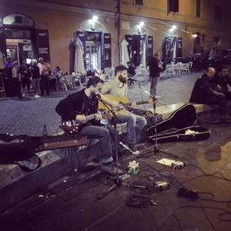 live duo street musician