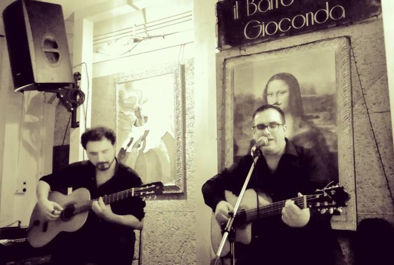Francesco Ferrarelli Emanuele Inserto Live @ Baffo Della Gioconda, Roma